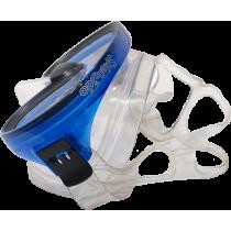 Maska do nurkowania pływania Salvas Splendido Silflex Medium niebieska,producent: Salvas, zdjecie photo: 2 | online shop klubfit