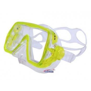 Maska do nurkowania SALVAS ABYSS SILFLEX SENIOR żółta,producent: SALVAS, photo: 2