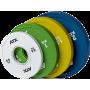 Obciążenia gumowane olimpijskie frictional ATX® 50-FGP | waga: 0,5kg ÷ 2kg,producent: ATX, zdjecie photo: 1 | klubfitness.pl | s