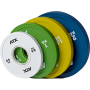 Obciążenia gumowane olimpijskie frictional ATX® 50-FGP | waga: 0,5kg ÷ 2kg,producent: ATX, zdjecie photo: 1 | online shop klubfi