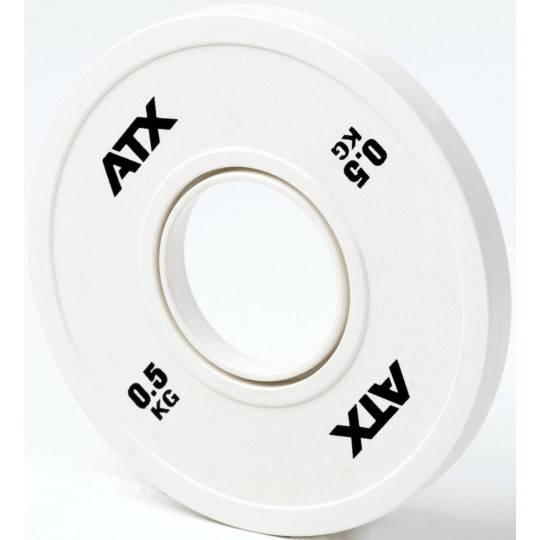 Obciążenia gumowane olimpijskie frictional ATX® 50-FGP | waga: 0,5kg ÷ 2kg,producent: ATX, zdjecie photo: 2 | online shop klubfi