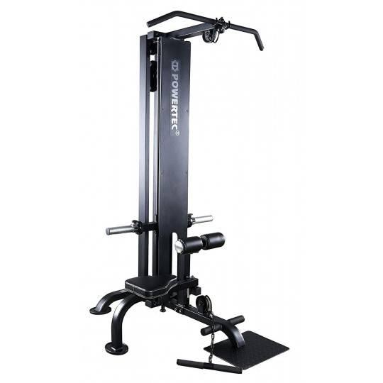 Stanowisko POWERTEC Lat Machine wyciąg na obciążenia olimpijskie,producent: Powertec, zdjecie photo: 1 | online shop klubfitness