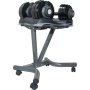Hantle regulowane EZ-Dumbbell 2x32,5kg | ze stojakiem,producent: Body Trading, zdjecie photo: 16 | klubfitness.pl | sprzęt sport