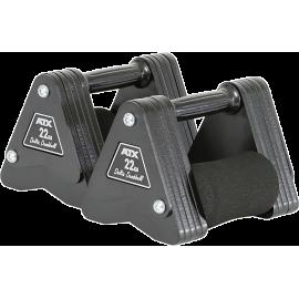 Hantle stałe żeliwne ATX® Delta   waga: 22kg ÷ 28kg,producent: ATX, zdjecie photo: 1   online shop klubfitness.pl   sprzęt sport