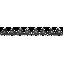 Hantle stałe żeliwne ATX® Delta | zestaw 9 par | waga: 4kg ÷ 20kg,producent: , zdjecie photo: 2