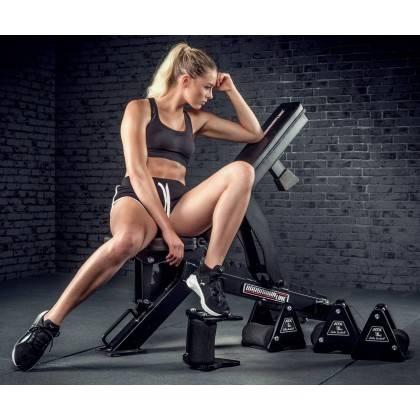 Hantle stałe żeliwne ATX® Delta | zestaw 9 par | waga: 4kg ÷ 20kg,producent: , zdjecie photo: 8