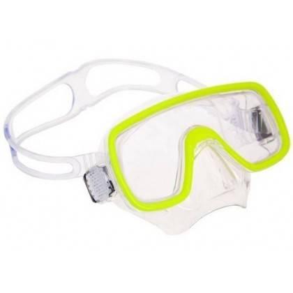 Maska do nurkowania SALVAS DOMINO SILFLEX JUNIOR żółta Salvas - 2 | klubfitness.pl | sprzęt sportowy sport equipment
