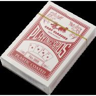 Karty do gry w pokera No. 988 plastikowe | talia czerwona,producent: SPARTAN SPORT, zdjecie photo: 1