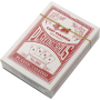 Karty do gry w pokera No. 988 plastikowe | talia czerwona,producent: SPARTAN SPORT, zdjecie photo: 1 | klubfitness.pl | sprzęt s