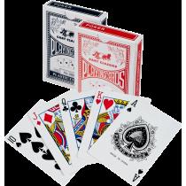 Karty do gry w pokera No. 988 plastikowe   talia granatowa,producent: SPARTAN SPORT, zdjecie photo: 2   online shop klubfitness.