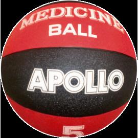 Piłka lekarska gumowa HMS Apollo NK05 | waga 5kg HMS - 1 | klubfitness.pl | sprzęt sportowy sport equipment