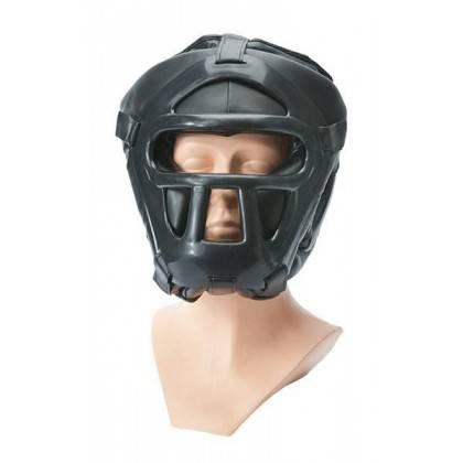 Kask ochronny na głowę Allright z maską | rozmiar senior,producent: ALLRIGHT, zdjecie photo: 2 | online shop klubfitness.pl | sp