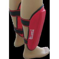 Nagolennik Fighter PVC | czerwony FIGHTER - 2 | klubfitness.pl | sprzęt sportowy sport equipment