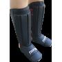 Nagolennik ze stopą Fighter PVC | czarny FIGHTER - 1 | klubfitness.pl | sprzęt sportowy sport equipment