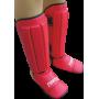 Nagolennik ze stopą Fighter PVC | czerwony FIGHTER - 1 | klubfitness.pl | sprzęt sportowy sport equipment