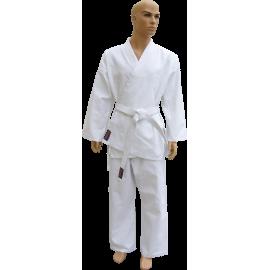 Kimono karate z pasem Fighter | 9oz | białe FIGHTER - 1 | klubfitness.pl | sprzęt sportowy sport equipment