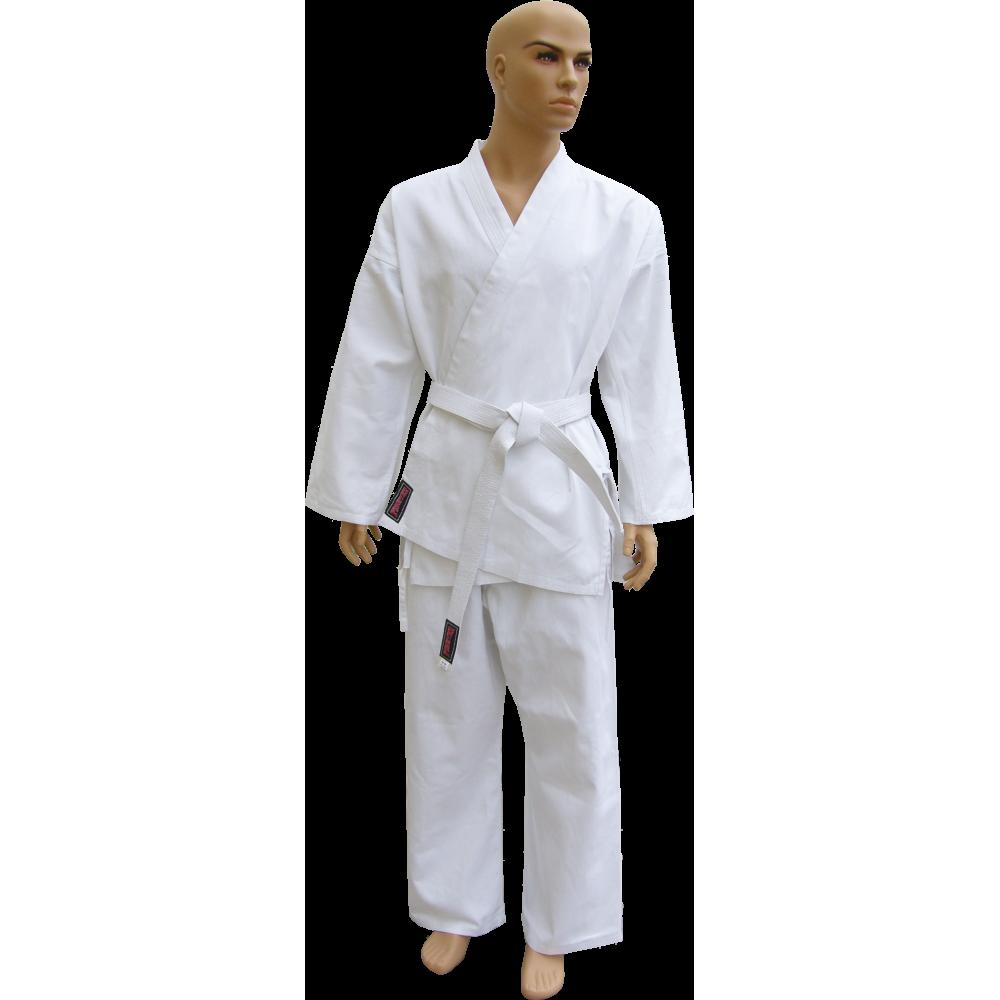 Kimono karate z pasem Fighter | 9oz | białe FIGHTER - 1 | klubfitness.pl