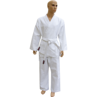 Kimono karate z pasem Fighter | 9oz | białe | rozmiar 7/200cm,producent: FIGHTER, zdjecie photo: 1