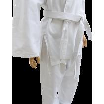 Kimono karate z pasem Fighter   9oz   białe   rozmiar 7/200cm,producent: FIGHTER, zdjecie photo: 2