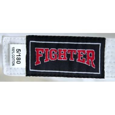 Kimono karate z pasem Fighter   9oz   białe   rozmiar 7/200cm,producent: FIGHTER, zdjecie photo: 4