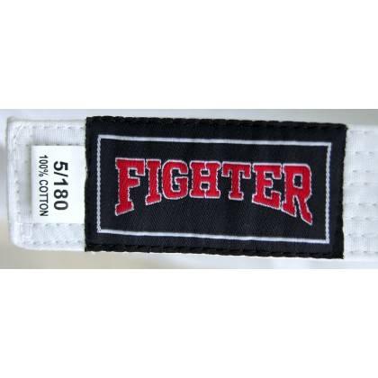 Kimono karate z pasem Fighter   9oz   białe,producent: FIGHTER, zdjecie photo: 4   klubfitness.pl   sprzęt sportowy sport equipm