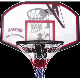 Tablica do koszykówki z obręczą Spartan Sport San Francisco | 110x70cm,producent: SPARTAN SPORT, zdjecie photo: 1 | online shop
