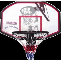 Tablica do koszykówki z obręczą Spartan Sport San Francisco | 110x70cm,producent: SPARTAN SPORT, zdjecie photo: 1