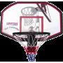 Tablica do koszykówki z obręczą Spartan Sport San Francisco | 110x70cm SPARTAN SPORT - 1 | klubfitness.pl