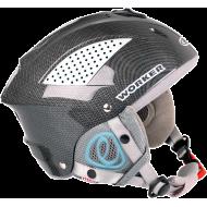 Kask narciarski snowboardowy WORKER SNOW HI-FI carbon ze słuchawkami,producent: WORKER, photo: 2
