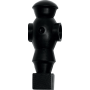 Figurka zawodnika do piłkarzyków Robot 116mm/Ø16mm | czarny NONAME - 1 | klubfitness.pl | sprzęt sportowy sport equipment