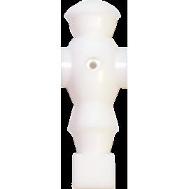 Figurka zawodnika do piłkarzyków Robot 116mm/Ø16mm | biały NONAME - 1 | klubfitness.pl