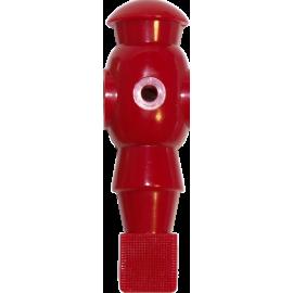 Figurka zawodnika do piłkarzyków Robot 116mm/Ø13mm | czerwony NONAME - 1 | klubfitness.pl