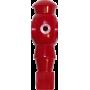 Figurka zawodnika do piłkarzyków Robot 116mm/Ø13mm | czerwony NONAME - 1 | klubfitness.pl | sprzęt sportowy sport equipment