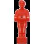 Figurka zawodnika do piłkarzyków 100mm/Ø13mm | czerwony NONAME - 1 | klubfitness.pl