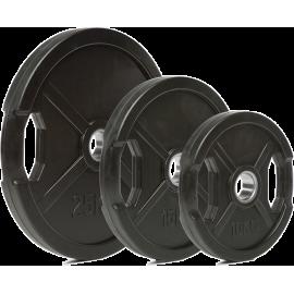 Obciążenie gumowane 50-GRR Ironsports® olimpijskie| waga 0.5kg ÷ 40kg IRONSPORTS - 10 | klubfitness.pl