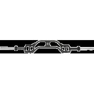Gryf olimpijski kratownica profilowana ATX® LH-50-CAMG Parallel Press Bar   200cm,producent: ATX, zdjecie photo: 4