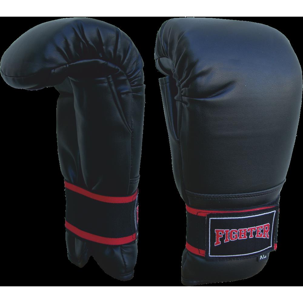 Rękawice przyrządówki wciągane Fighter W2 | czarne,producent: FIGHTER, zdjecie photo: 1 | klubfitness.pl | sprzęt sportowy sport