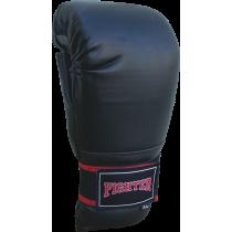 Rękawice przyrządówki wciągane Fighter W2 | czarne,producent: FIGHTER, zdjecie photo: 2 | klubfitness.pl | sprzęt sportowy sport