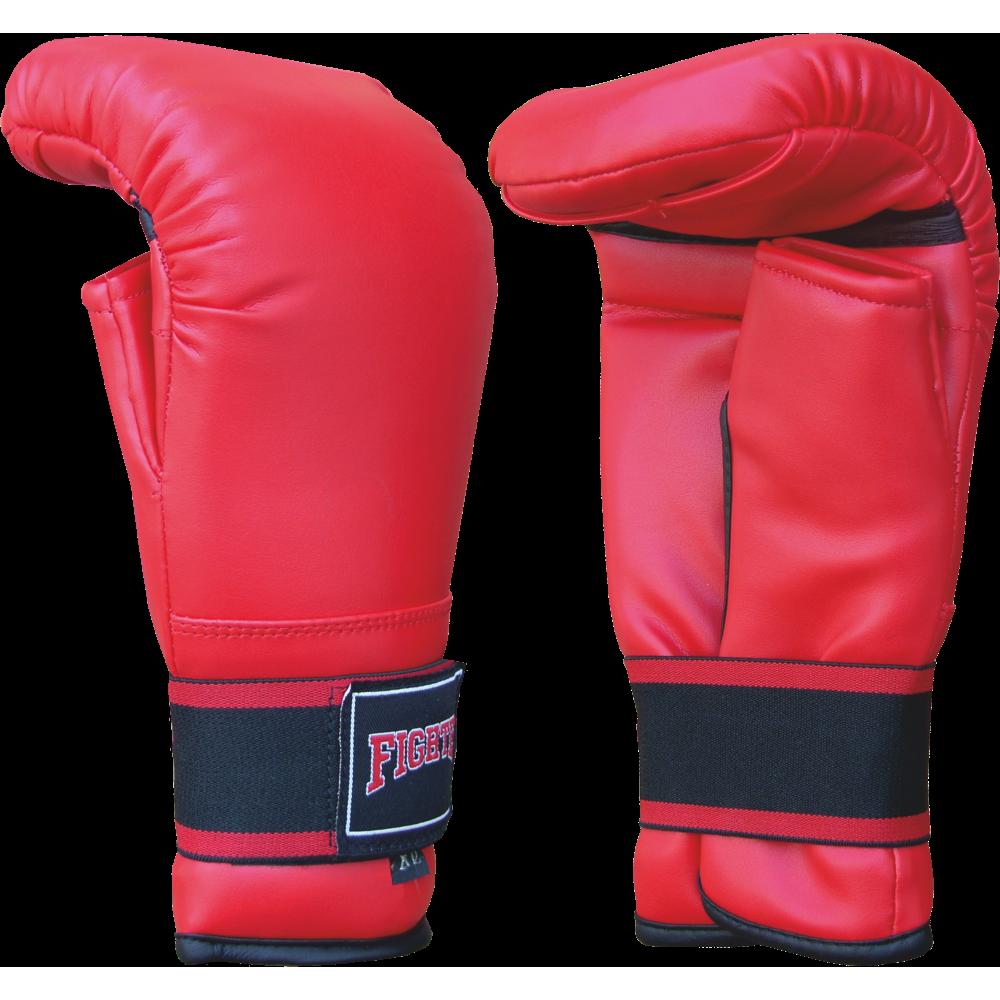 Rękawice przyrządówki wciągane Fighter W4 | czerwone,producent: FIGHTER, zdjecie photo: 1 | online shop klubfitness.pl | sprzęt
