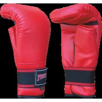 Rękawice przyrządówki wciągane Fighter W4 | czerwone,producent: FIGHTER, zdjecie photo: 1