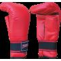 Rękawice przyrządówki wciągane Fighter W4 | czerwone FIGHTER - 1 | klubfitness.pl