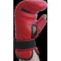 Rękawice przyrządówki wciągane Fighter W4 | czerwone,producent: FIGHTER, zdjecie photo: 4 | online shop klubfitness.pl | sprzęt