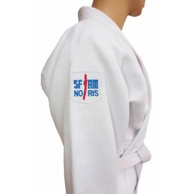 Kimono judo profesjonalne Sfjam-Noris White Tiger Excellence   165cm   white,producent: SFJAM NORIS, zdjecie photo: 4