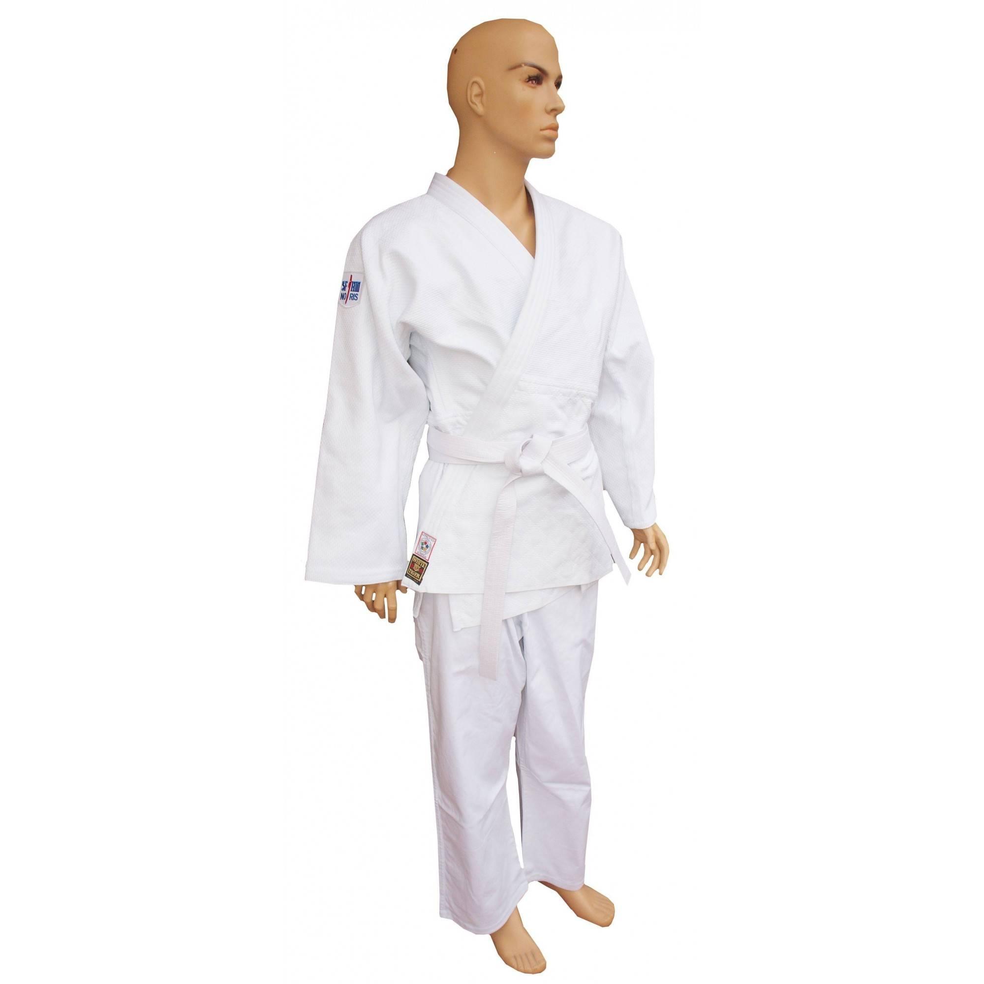 Kimono judo profesjonalne Sfjam-Noris White Tiger Excellence | 165cm | white,producent: SFJAM NORIS, zdjecie photo: 1 | online s
