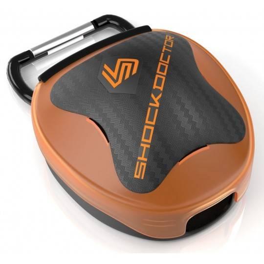 Pudełko na ochraniacz szczęki Shock Doctor   pomarańczowe,producent: Shock Doctor, zdjecie photo: 1   online shop klubfitness.pl