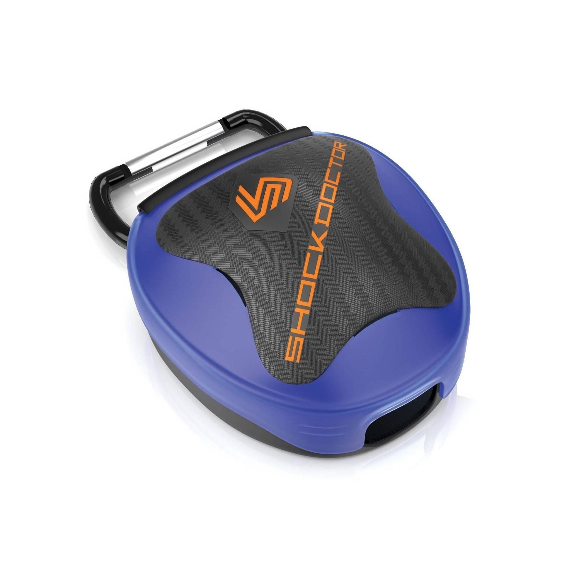 Pudełko na ochraniacz szczęki Shock Doctor   niebieskie,producent: Shock Doctor, zdjecie photo: 1