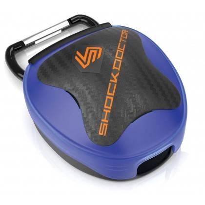 Pudełko na ochraniacz szczęki Shock Doctor   niebieskie Shock Doctor - 1   klubfitness.pl   sprzęt sportowy sport equipment