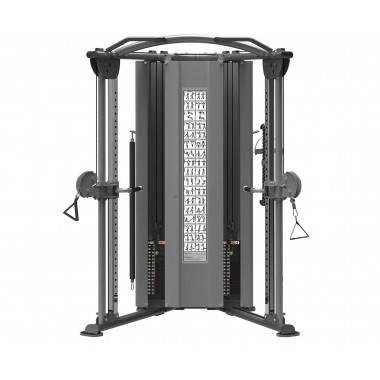 Brama treningowa wąska narożna IMPULSE IT9330 z wbudowanym stosem 2 x 91 kg,producent: IMPULSE, photo: 2