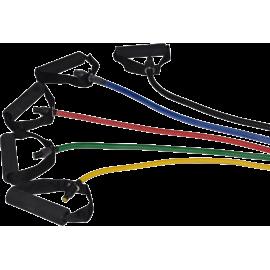 Ekspander gumowy do ćwiczeń z uchwytami Bodylastics Fitness Tube Deluxe,producent: Bodylastics, zdjecie photo: 1 | online shop k