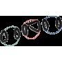 Ekspander gumowy do ćwiczeń mięśni nóg Bodylastics Cuff Tube,producent: Bodylastics, zdjecie photo: 4 | online shop klubfitness.